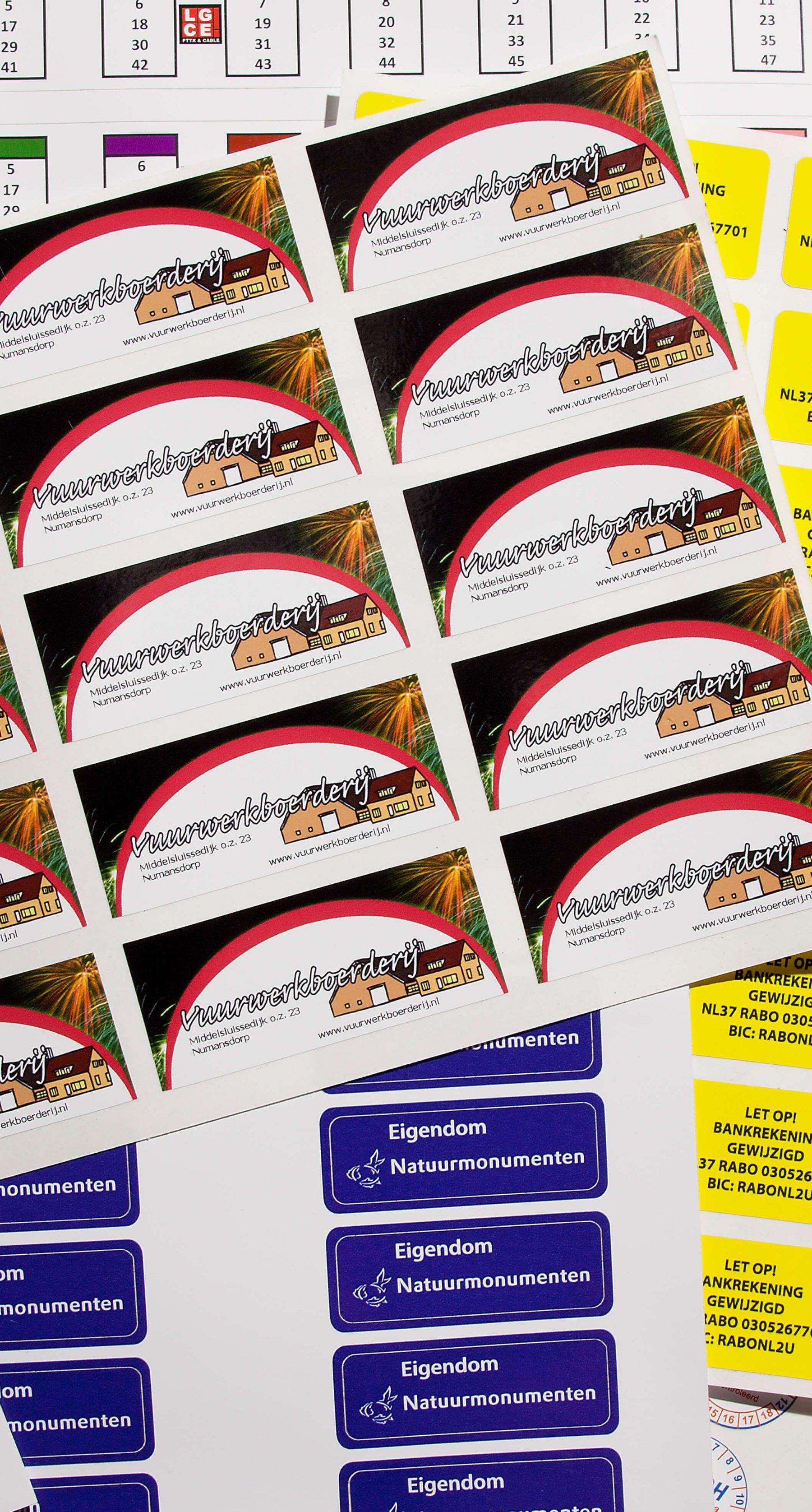 Stickers klein
